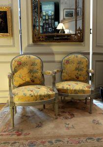Два кресла в стиле Людовика XVI, XVIII в.
