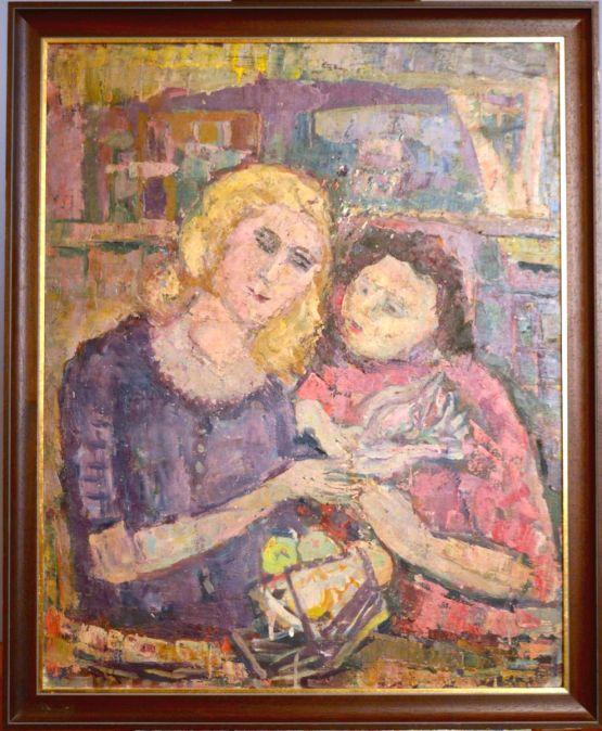 Картина в жанре кубизма, 1930-ые