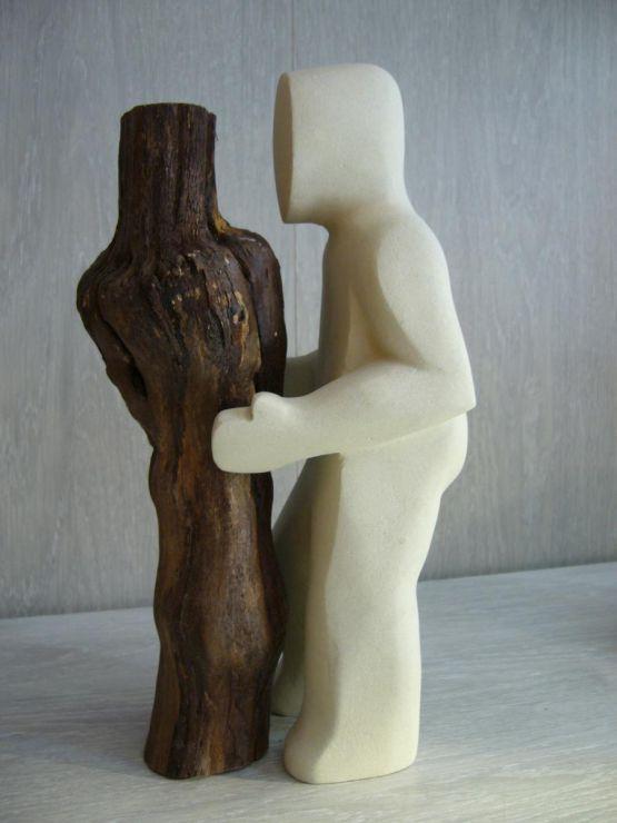 Скульптура 'Mon Amour', V. Herlin, XX в.