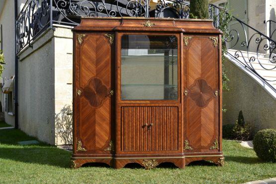 Книжный шкаф в стиле Наполеона III, XIX в.