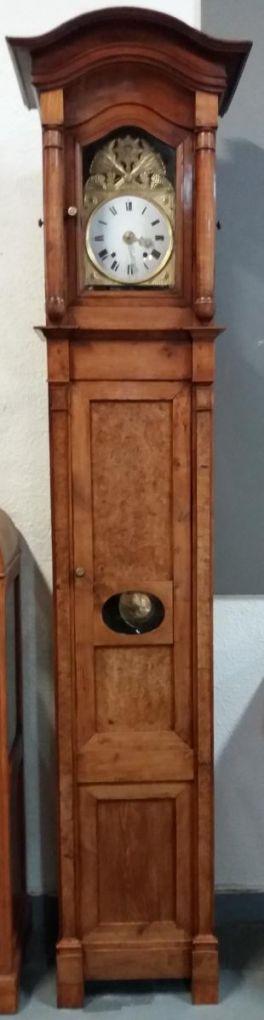 Напольные часы из ореха. Франция, XIX в.