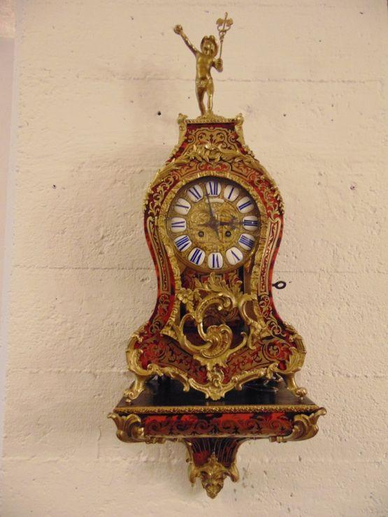 Часы-картель в стиле Буль эпохи Наполеона III, XIX
