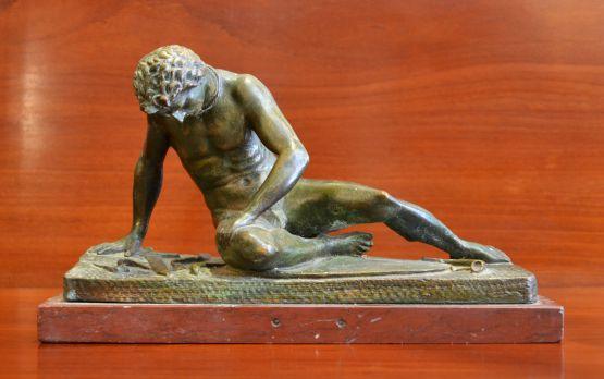 Скульптура из мрамора и бронзы