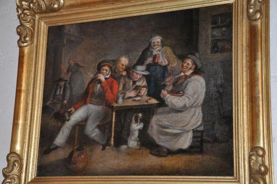 Картина 'Пьяницы', XIX в.