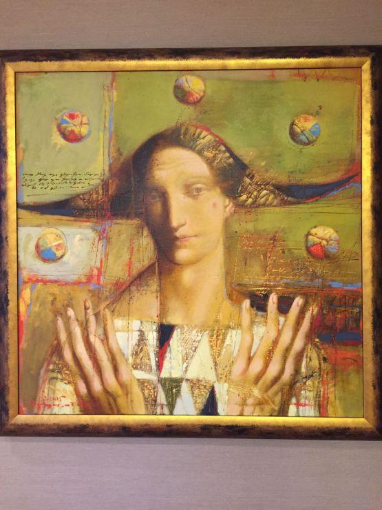 Картина 'Жанглёр'