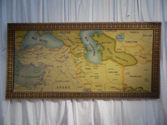 Картина 'Большая  карта Среднего Востока'