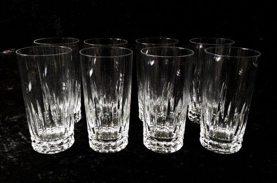 8 хрустальных стаканов для апельсинового сока, ХХ
