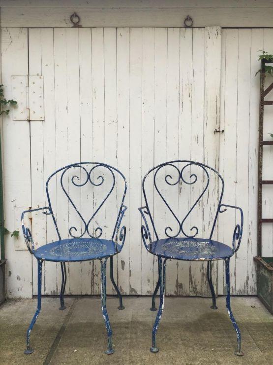 Металлические садовые кресла