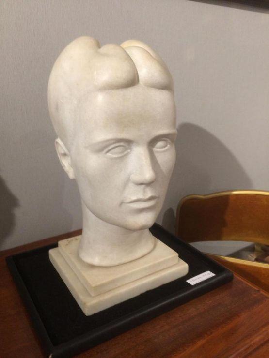 Скульптура 'Tete De Femme', Э. Айду, XX век