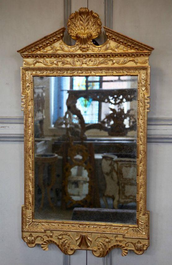 Зеркало в позолоченной резной раме
