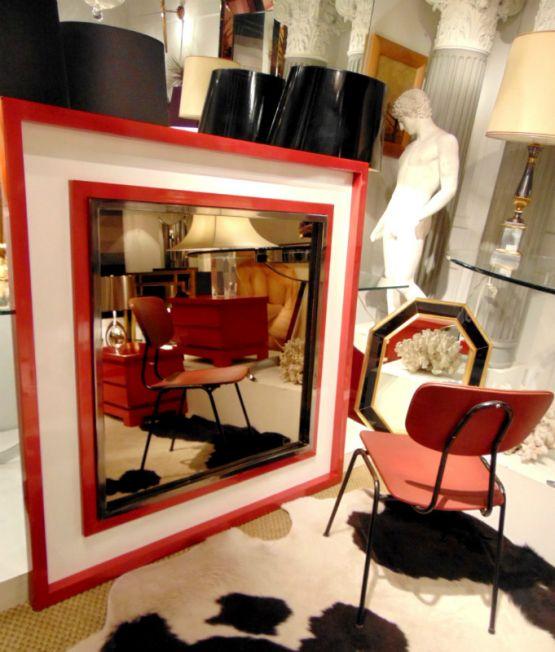 Зеркало, дизайн 'Мейсон-Янсен'