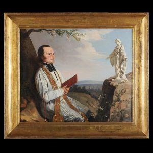 Портрет Святого Кюре из Арса, XIX в.