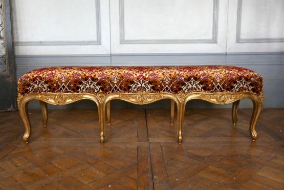 Банкетка в стиле Людовика XV