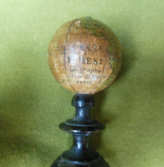 Небольшой глобус, XIX в.