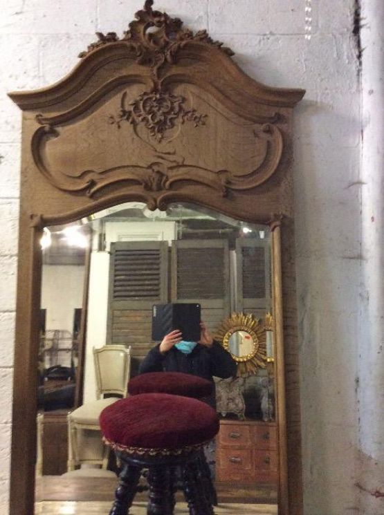 Зеркало с фаской эпохи Людовика XV