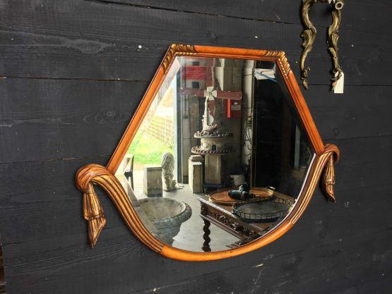 Зеркало в резной раме в стиле Ар-Деко