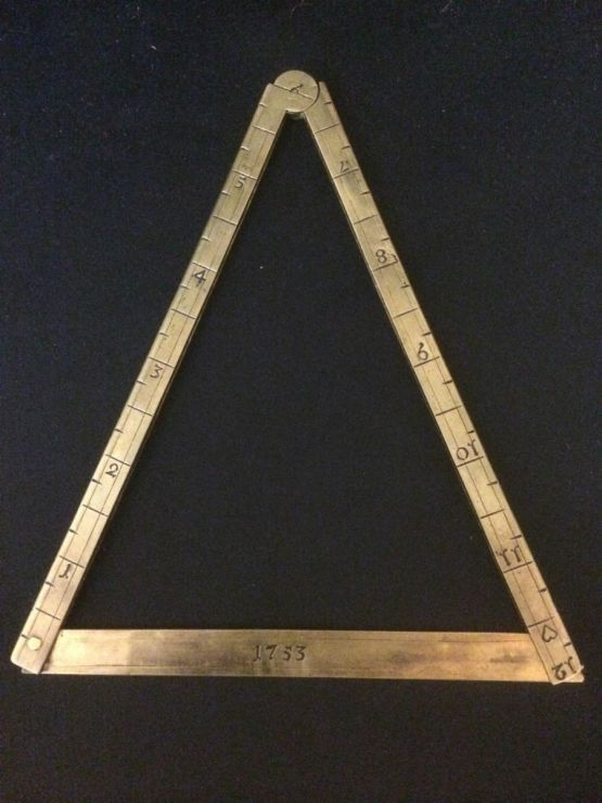 Измерительный инструмент. Франция, XVIII в.