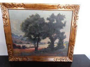 Пейзаж. Louis Randavel, XX в.