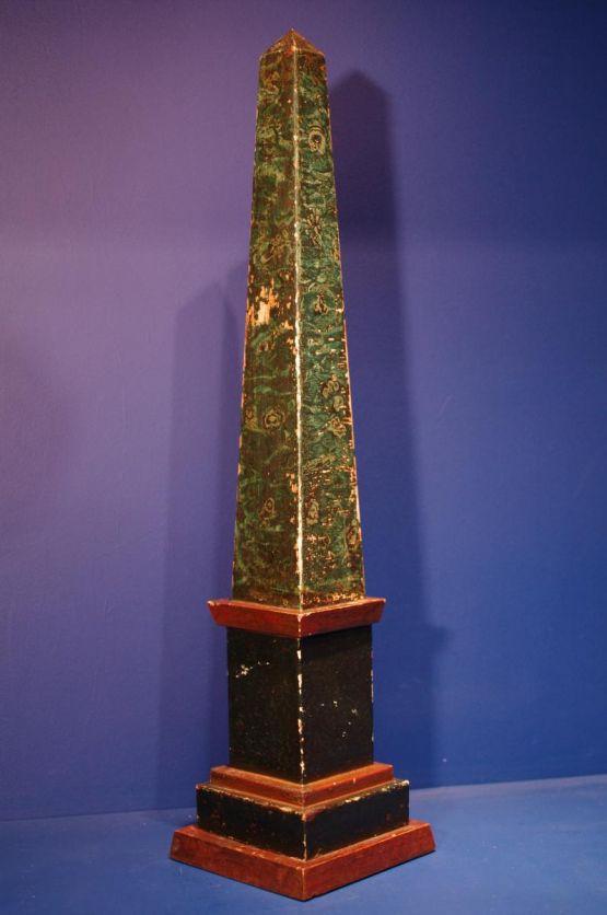 Обелиск из металла, Dominique, ок. 1950-1960 гг.