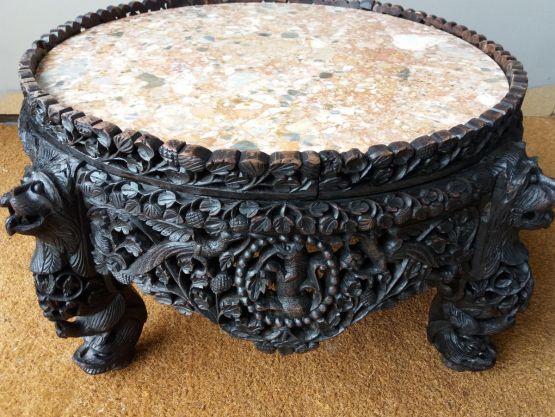 Кофейный столик. Индокитай, конец XIX в.