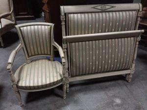 Кровать и кресло