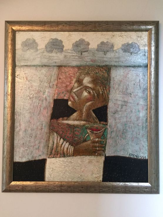 Картина 'Вино из Помарросы'