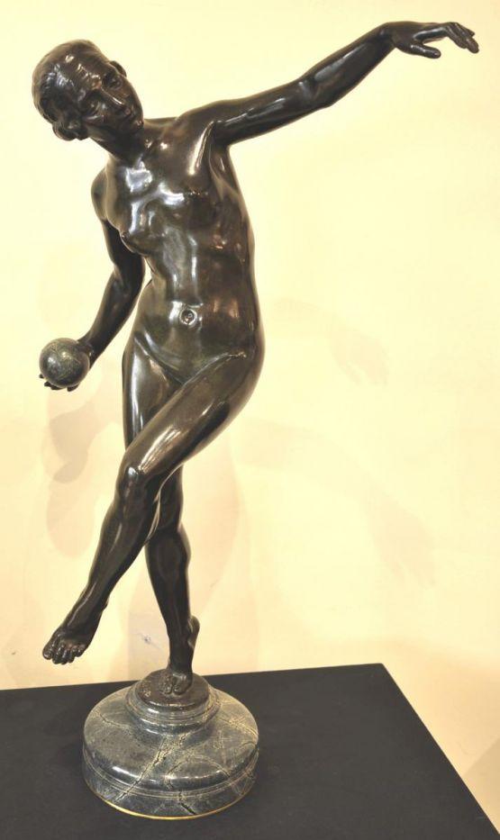Скульптура. Lucien Alliot, ХХ в.