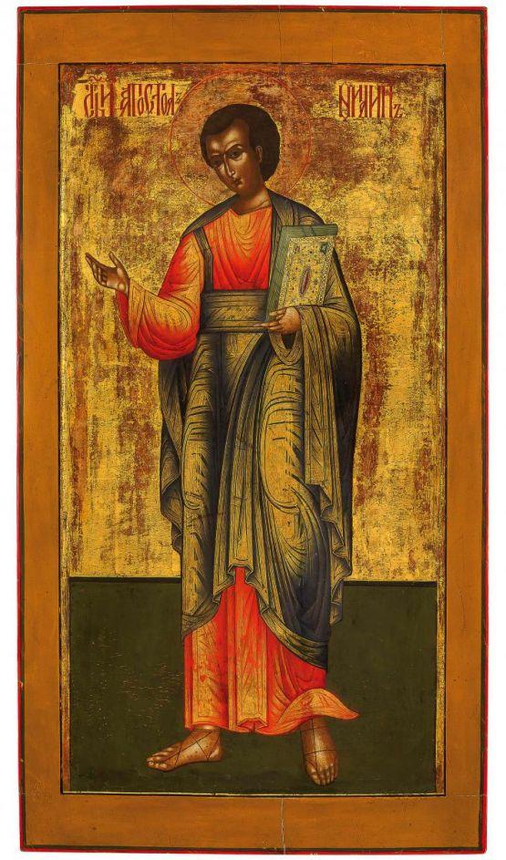 Икона апостола Павла. Россия, конец XVIII в.