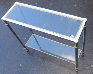 Двухуровневый консольный столик, 1970-1980 гг.