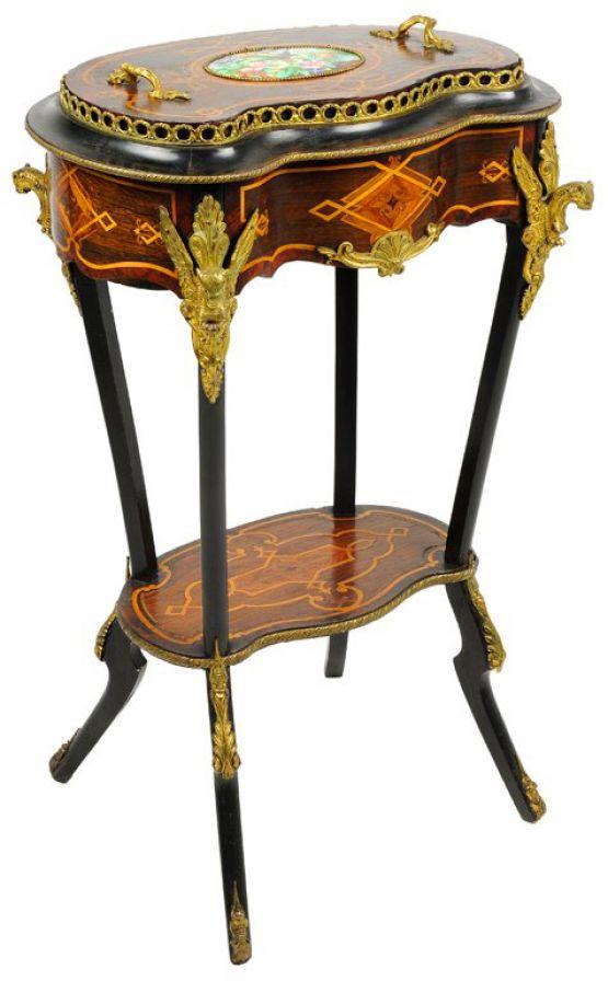 Садовый столик эпохи Наполеона III. Diehl, XIX в.