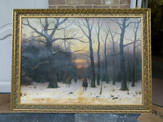 Картина Эд.Хайна мл. 1854-1918