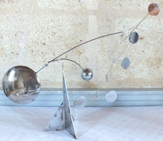 Скульптура из металла, F. Colette, XX в.