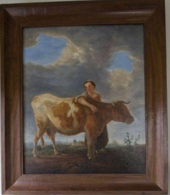 Картина, написанная маслом