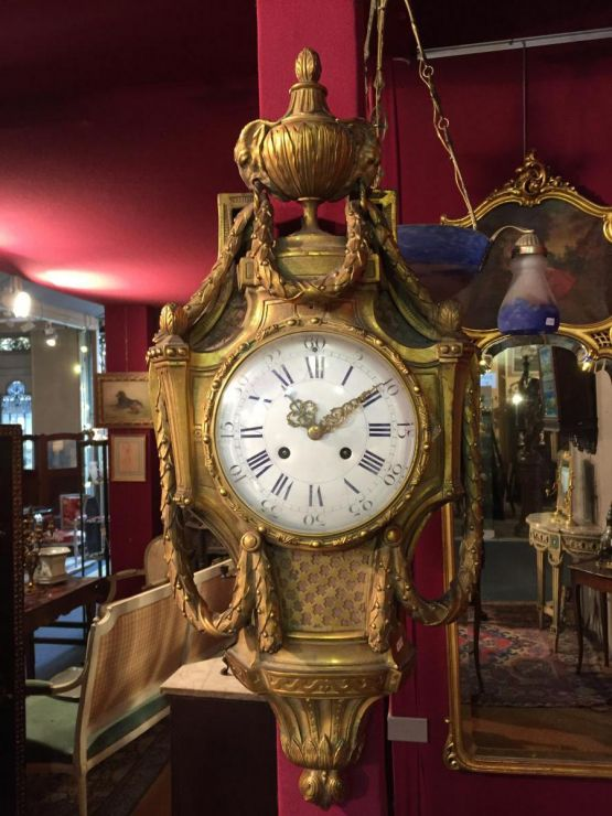 Часы-картель в стиле Людовика XVI, XIX в.