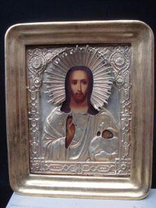 Икона Иисуса Христа, XIX в.