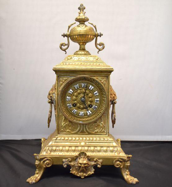 Бронзовые часы, конец  XIX в.