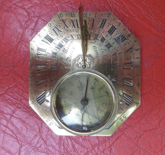 Солнечные часы. Пьер Ле Мэр, XVIII в.