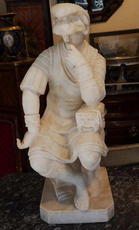 Мраморная скульптура Лоренцо Медичи, XIX в.