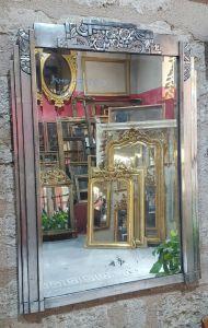 Посеребренное зеркало в стиле Ар-Деко, ХХ в.