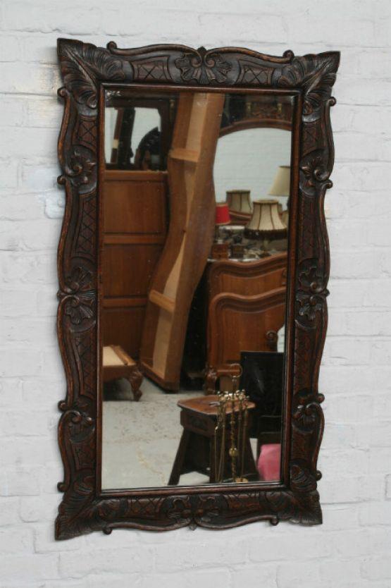 Зеркалов резной раме эпохи Людовика XV