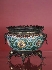 Чаша в китайском стиле, 1867-1885 гг.
