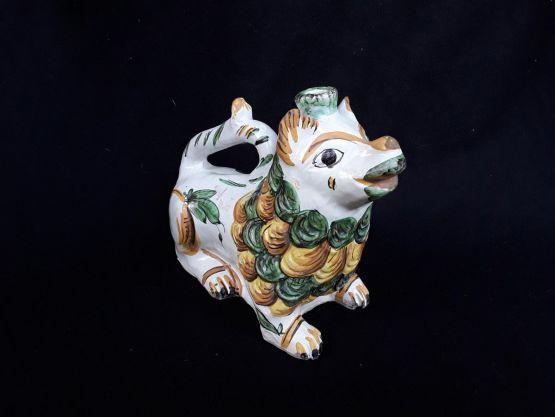 Акваманил из цветной керамики, начало XIX в.