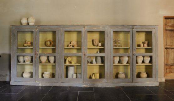 Витрина из древесины. Франция, XIX век