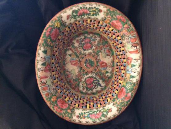 Ажурная чаша из кантонского фарфора, XIX в.