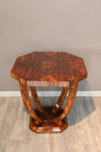 Консольный столик из ореха эпохи Ар-Деко, ХХ в.
