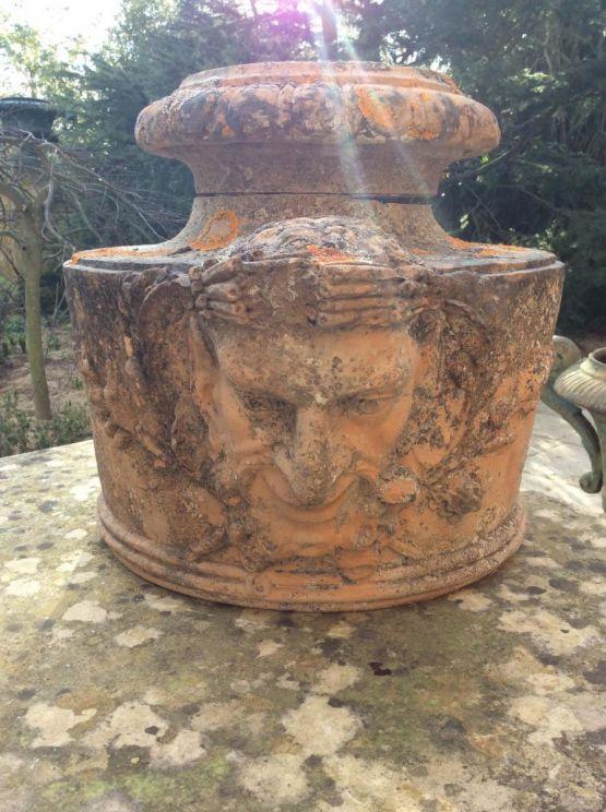 Элемент древней керамики, XIX в.