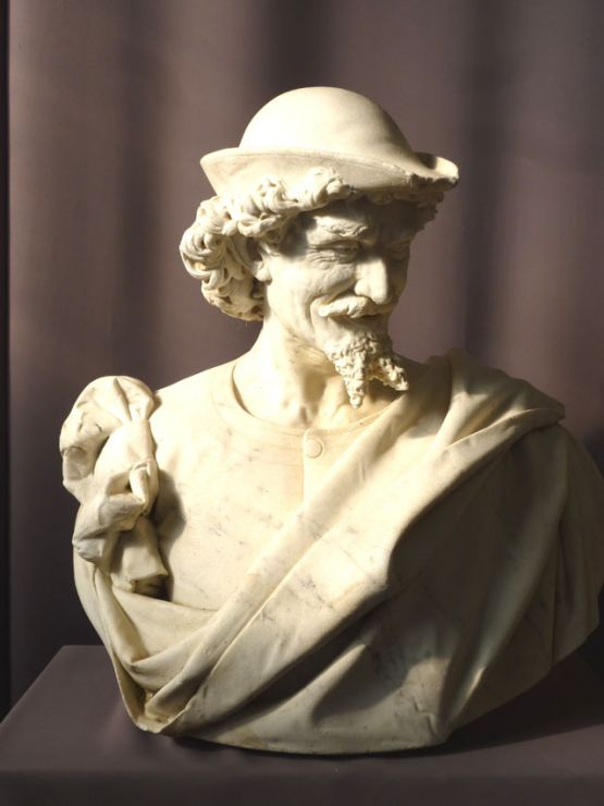 Мраморная скульптура. Benvenuti, XIX в.