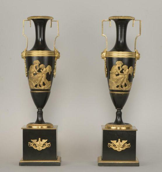 Две французские вазы, XVIII в.