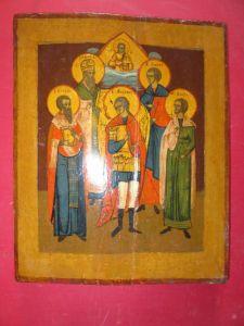 Старинная икона. Греция, XIX в.