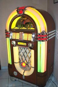Музыкальный автомат. Wurlitzer, XX в.